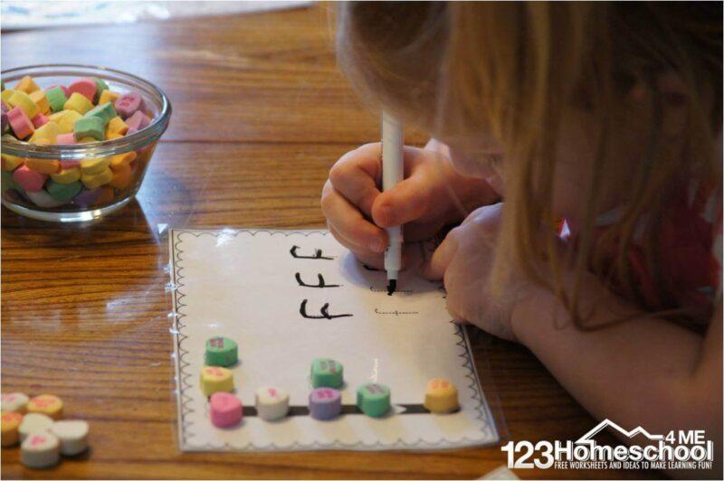 Conversation-Heart-Alphabet-Worksheets
