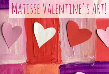 Matisse Valentines Art Projects