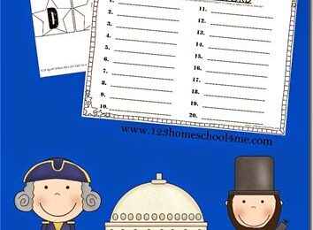 Presidents Day Spelling Activity