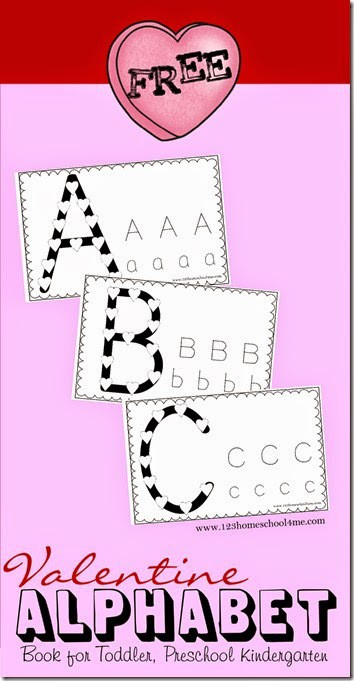 FREE Valentines Alphabet - these free pritnable worksheets are a fun way for toddlers, preschoolers, and kindergartners to practice tracing upper and lowercase letters and learn with conversation heart candies. This is a great valentines day activity #preschool #kindergarten #alphabet #valentinesday