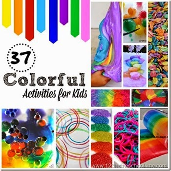 37 colorful activities for kids