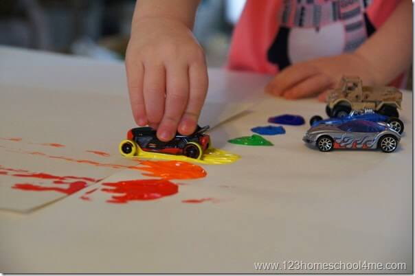 Cars activities for kids