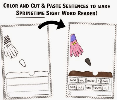 Create Your Own reader Springtime Preview