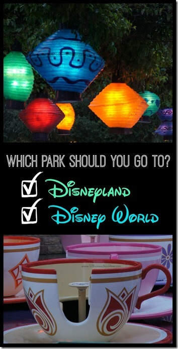 Disneyland or Disney World - Planning a Disney vacation but not sure which park to visit? Here is everything you need to know to pick between Disneyland in California and Disney World in Florida. WOW!!! I had no idea they were so different!! Great insight and comparison!!!!