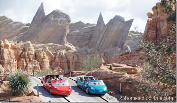 Radiator Racers best disney ride