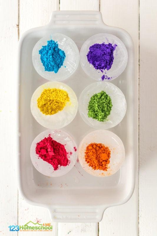 Rainbow Science Experiments
