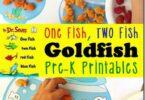 Goldfish Printables for Preschool