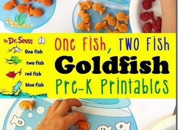 Goldfish Printables for Preschool