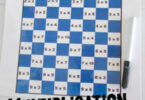 Multiplication Checkers Math Game