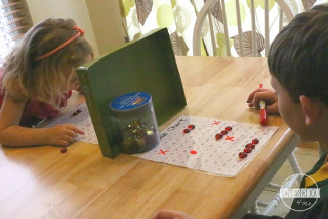 FREE cool math games - battleship 100s chart