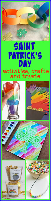 St. Patrick's Day - 30 super clever and unique crafts for kids, St. patricks day kids activities, snacks and more (spring, preschool, march theme, kindergarten, 1st grade, 2nd grade, 3rd grade)