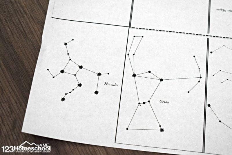 Star Constellations Book