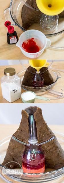 Make-Baking-Soda-Magma-Solution-for-Inside-Volcano