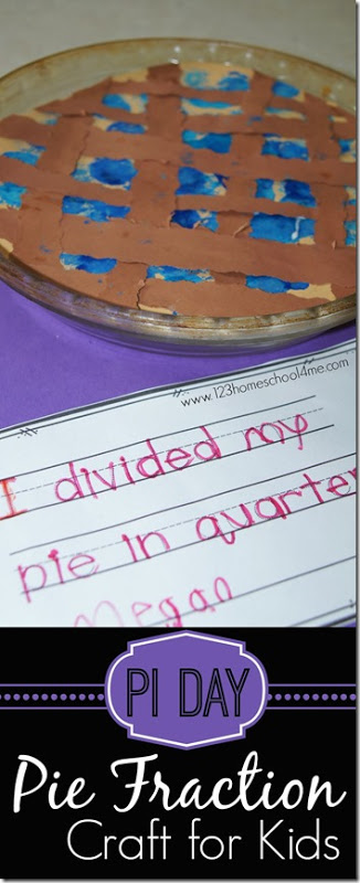 Pi Day Craft And Writing Activity For Kids