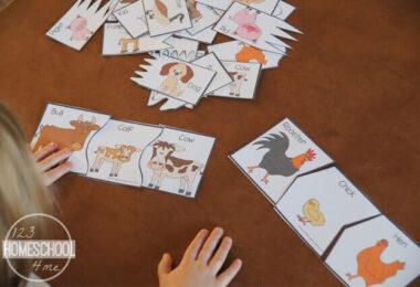 Baby-Farm-Animal-Puzzles