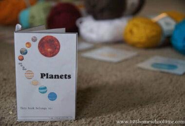 FREE-Planets-Mini-Book