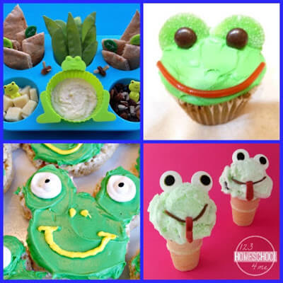 super cute and yummy frog snacks for kids