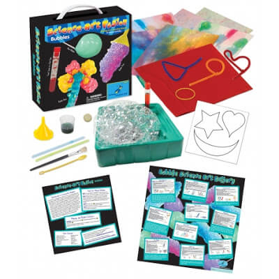 Science Art Fusion kits are complete kits with everything you need to do 10 experiments per kit. These science experiments for kids are not only fun to learn about, but make beautiful art projects too. There are 6 kits in all making this great for a science birthday party, homeschool science program, coop, after school family fun, or summer learning for Preschool, Kindergarten, 1st grade, 2nd grade, 3rd grade, 4th grade, and 5th grade students (kids activities, science project)