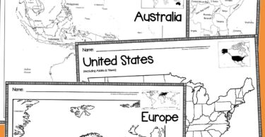 FREE Printable Maps for kids -blank maps of the world, africa, asia, australia, south america, north america, united states, antarctica, Europe and more. Include blank maps and labeled maps. Use them with any social studies / geography program with kindergarten, first grade, 2nd grade, 3rd grade, 4th grade, 5th grade, 6th grade, and 7th grade students to visualize the world at a glance or dive deep into finding countries, continents, rivers / mountains, oceans, etc. Includes both blank printable maps and labeled as well. tralia, united states, europe and more both blank and labeled for kindergarten, first grade, 2nd grade, elementary, middle school, and high school #printablemaps #geography #homeschooling