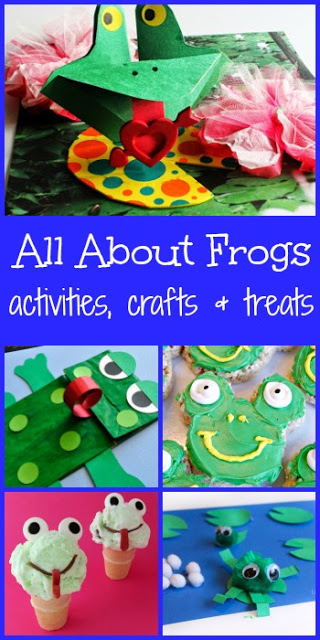LOTS of fun, clever frog Activities and frog crafts for Save the frog Day on April 30th and spring in general. This frog theme is perfect for toddler, preschool, kindergarten, first grade, 2nd grade, and 3rd grade kids. #savethefrogs #frogactivities #kindergarten