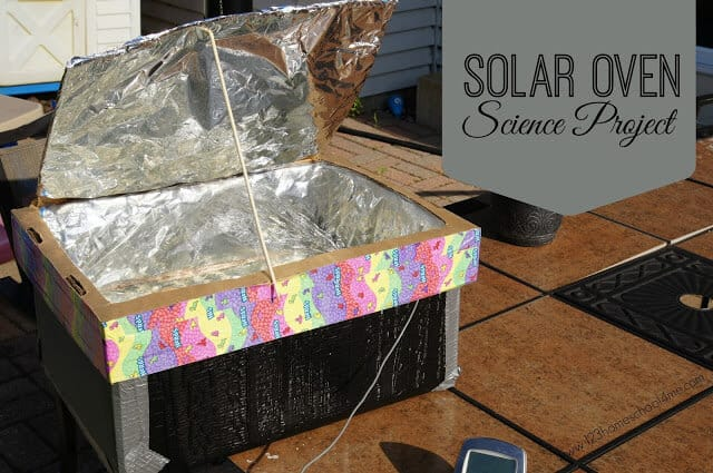 Solar Oven Science Project - how to make one and more about the sun and our solar system