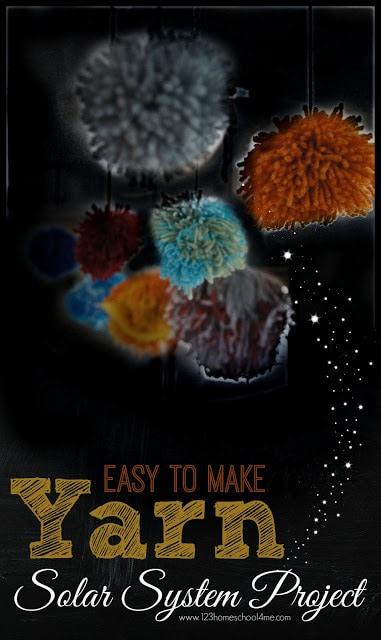yarn solar system project