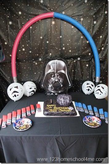 star wars birthday party theme