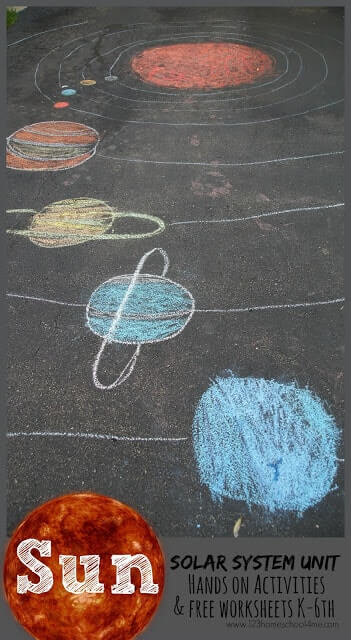 Take kids on a fun, engaging journey through our solar system as you learn about the Sun for Kids. From hands on solar system activities, a lego sundial, solar oven, power of the sun, names of the solar system planets, orbits, and so much more - this sun solar system lesson for kindergartners, grade 1, grade 2, grade 3, grade 4, grade 5, and grade 6 is a MUST for homeschoolers and parents to teach kids science.