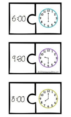 telling time games to help kids practice telling time on both a digital and anlog clock