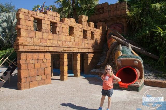 themed playgrounds at disney world resorts