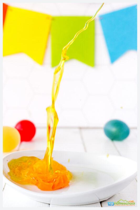 Bouncy Egg Experiment Explanation