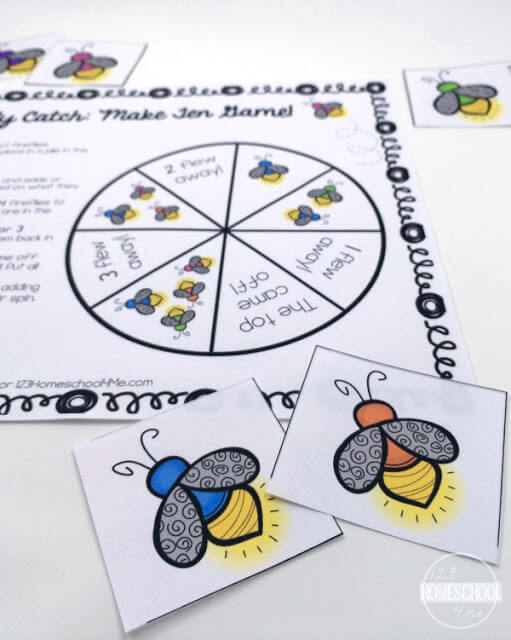 counting, addition, subtraction math game