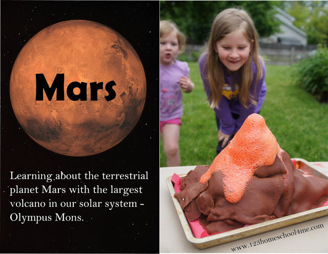 Mars Science Project for Solar System Unit for Kids