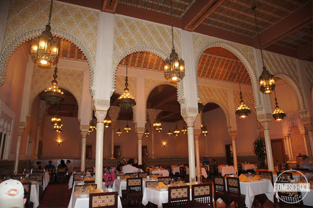 Restaurant Marrakesh in Epcot Disney World