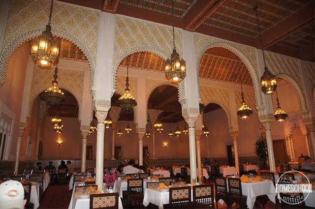 Restaurant Marrakesh in Epcot Disney World
