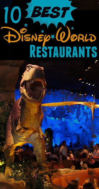 10 Best Disney World Restaurants with helpful reviews of the best table service restaurants at Disney World you will want to make reservations at 180 days in advance. Plus tips and pros and cons of the other major restaurants. #disneyworld #disneytips #disneyfood