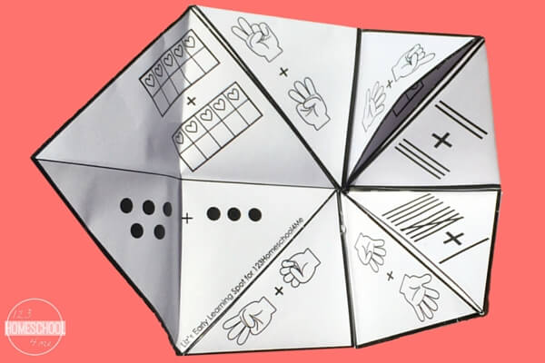 Use these free Cootie Catchers for a fun way to consolidate math skills!