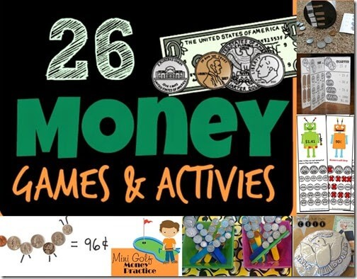 money games and money activities for kids
