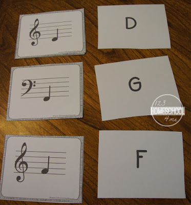 teach kids musical notes with these Music Note Flashcards for kindergarten, 1st grade, 2nd grade, 3rd grade, 4th grade