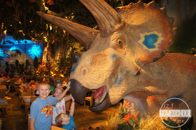 trex cafe in disney springs offergs a fun atmosphere and generous portions of yummy food