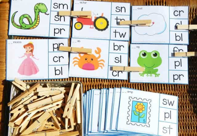 Consonant Blend Activities