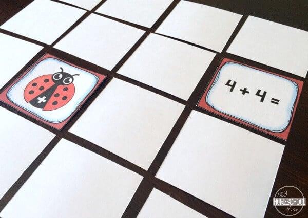 Ladybug Doubles Addition