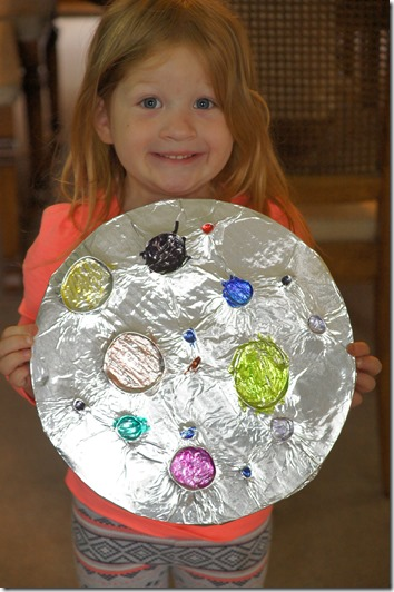 aluminum foil art for kids