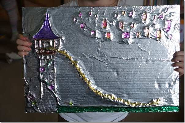 Amazing Tin Foil Craft For Kids 123 Homeschool 4 Me
