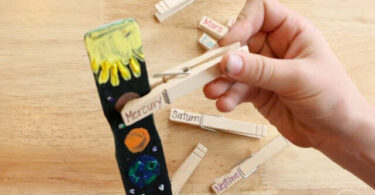 Paint-Stick-Solar-System-Project