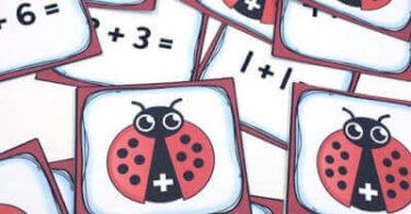 Ladybug-Addition-Math-Game