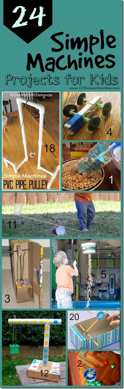 24 Simple Machines Projects For Kids