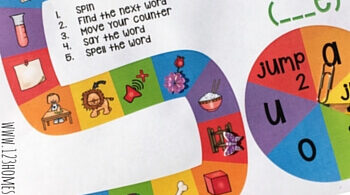 Make practicing long vowels with this super cute, free long vowel games printable. This phonics board game helps children focus on the _ _ _ e spelling pattern. Simply download the pdf file and print this long vowel games printable free for first grade and 2nd grade students. This long vowel games is also handy to be used as a vocabulary building game.