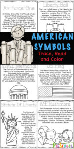 patriotic symbols worksheets