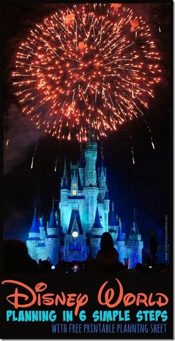 Disney World Planning in 6 simple steps